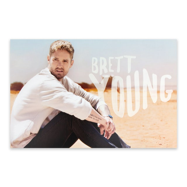 Brett Young Ticket to LA Poster