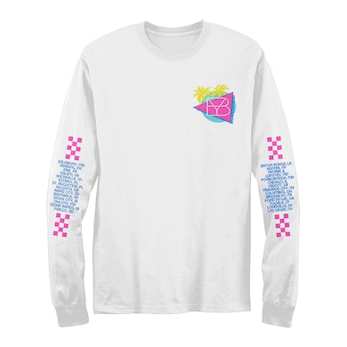 Brett Young Retro Tour Date Long sleeve T-Shirt