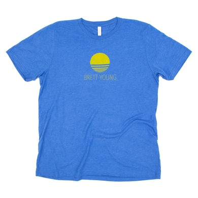 Brett Young Blue Sun T-Shirt