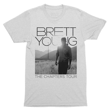 Brett Young Chapters Tour Photo Dateback T-shirt