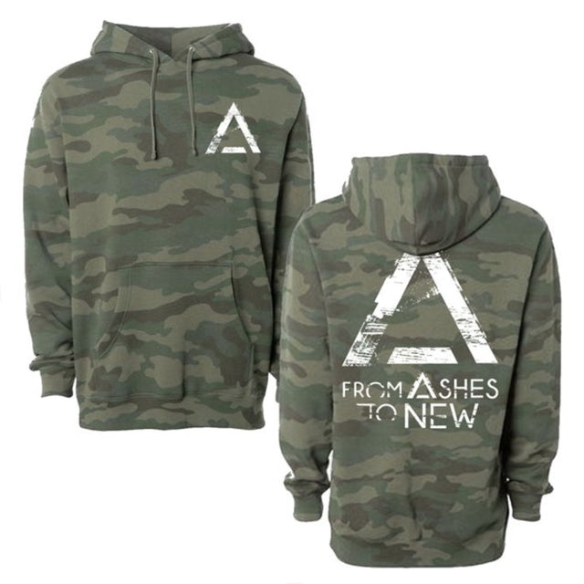 From Ashes to New Camo Triangle Pullover Hoodie
