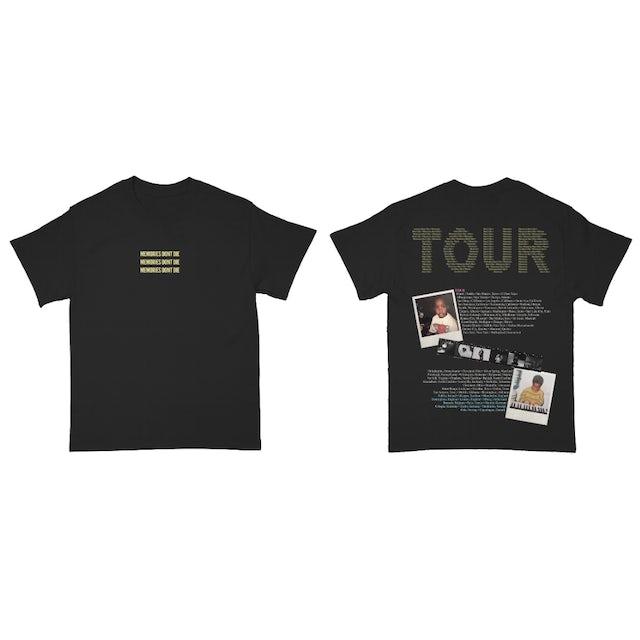 Tory Lanez Memories TOUR TEE