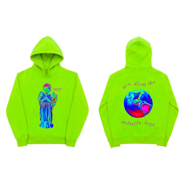 Tory Lanez Praying Angel Neon Hoodie