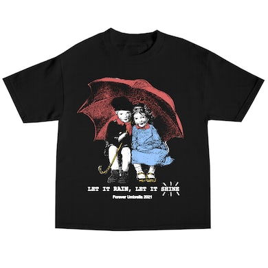 Tory Lanez Umbrella Kids Tee- Black