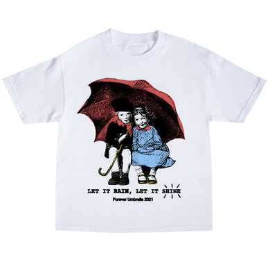 Tory Lanez Umbrella Kids Tee- White