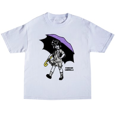 Tory Lanez Umbrella Girl Tee- White