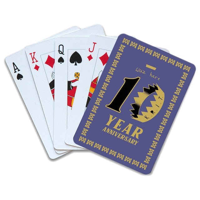 Big K.R.I.T. 10th anniversary KRIT Wuz Here playing cards