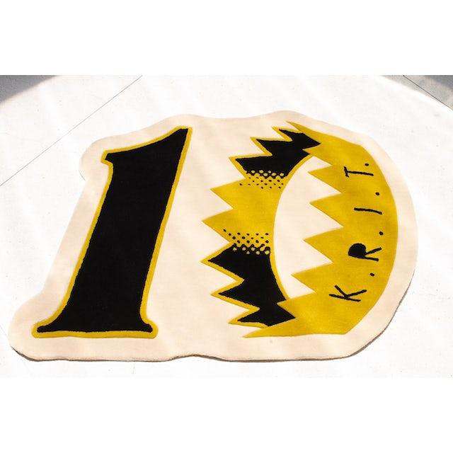 Big K.R.I.T. 10th anniversary KRIT Wuz Here cream rug