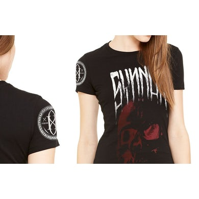 Synner Skull Women's Fine Jersey T-Shirt