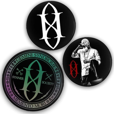 Gemini Syndrome SYNNER PIN 3 PACK