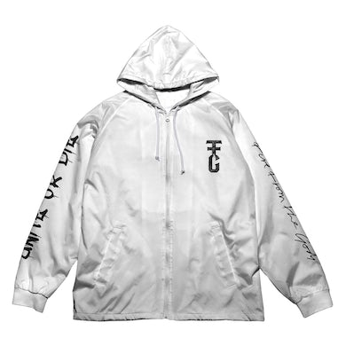 Fire from the Gods Limited Edition Unite Or Die White Windbreaker