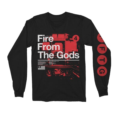 Fire from the Gods Subway Onyx Long Sleeve