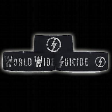 "Davey Suicide World Wide Suicide 1"" Wristband"