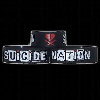"Davey Suicide Suicide Nation 1"" Bracelet"