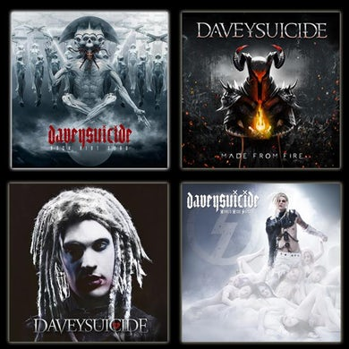 Davey Suicide The Suicide Collection on CD w/ ROCK AINT DEAD