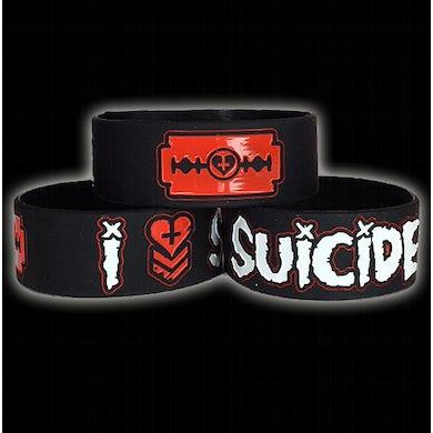 """Davey Suicide I <+3 Suicide 1"""" Bracelet"""