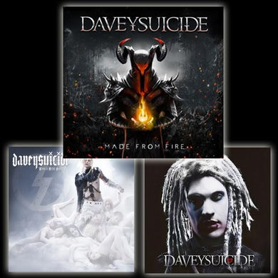 Davey Suicide The Suicide Collection on CD w/ Made From Fire