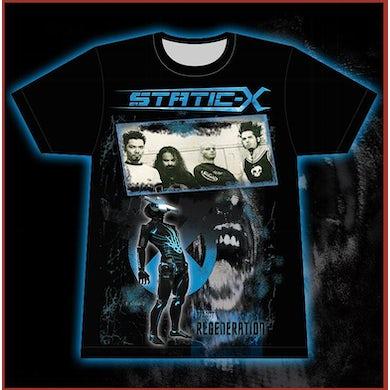 Static-X Project Regeneration - Band T-Shirt