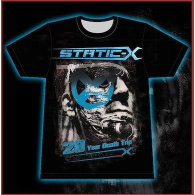 Static-X 20 Year Death Trip - Borg - T-Shirt