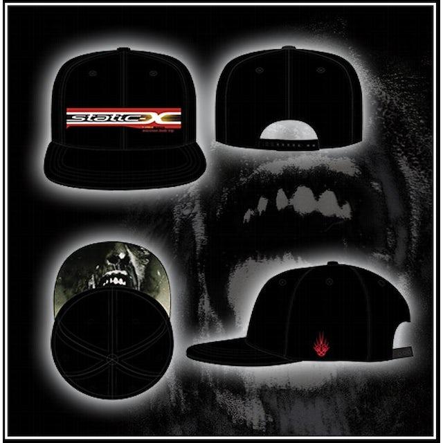 Static-X WDT SnapBack Baseball Hat