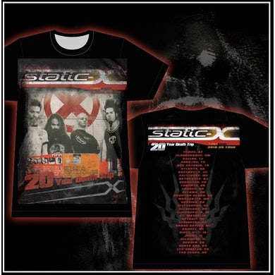 Static-X WDT Band Photo X With Tour Dates