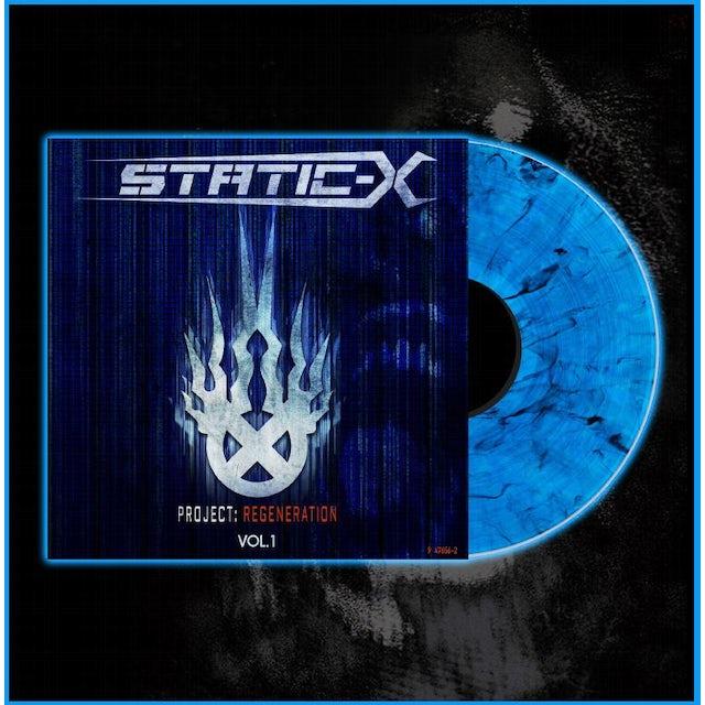 Static-X Limited Edition Project Regeneration Volume 1 Blue Vinyl