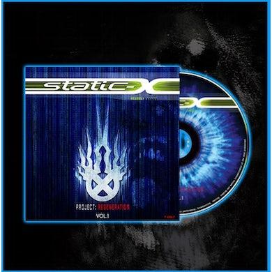 "Static-X ""Project Regeneration Volume 1"" CD"