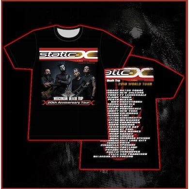 Static-X New Band Photo World Tour Shirt