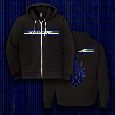 Static-X Blue Shock WDT Hoodies