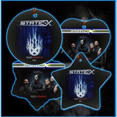Static-X Project Regeneration Vol 1 two-sided Ornaments