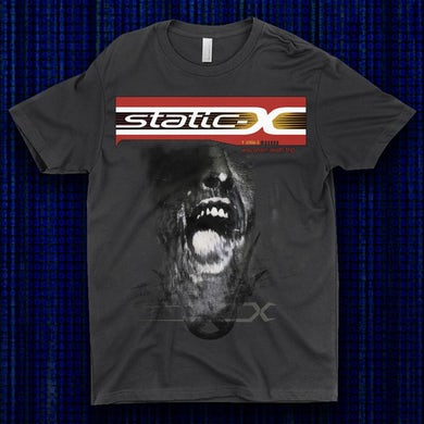 Static-X WDT Throwback Shirts