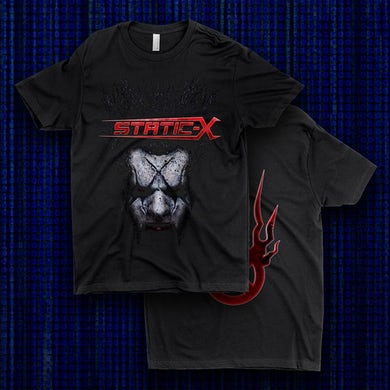 Static-X Xer0 Mask Shirts