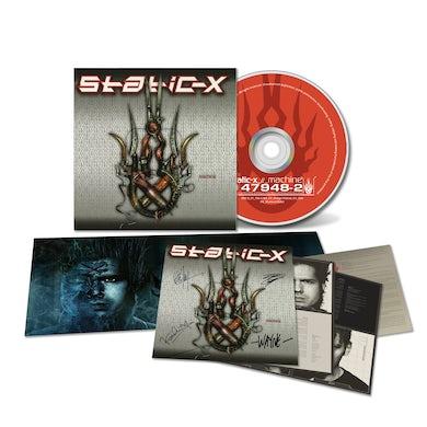 Static-X Machine (20th Anniversary Edition) Signed Digipack CD