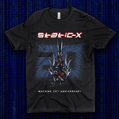 Static-X Machine 20th Anniversary Shirt