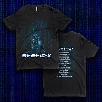 Static-X Wayne Machine 20th Anniversary Shirt