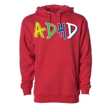 Joyner Lucas Red ADHD Hoodie