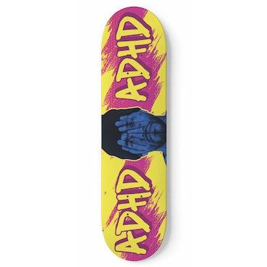 Joyner Lucas ADHD Yellow Skate Deck