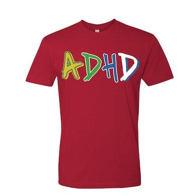 Joyner Lucas Red ADHD T-shirt