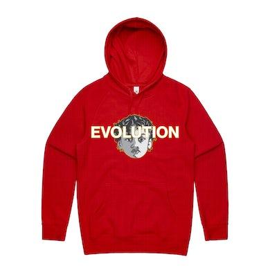 Joyner Lucas RED EVOLUTION HOODIE