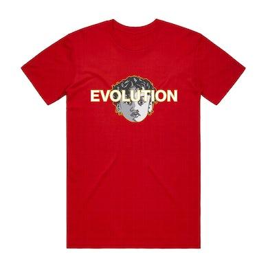 Joyner Lucas RED EVOLUTION T-SHIRT