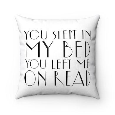 Messy Lyric Square Pillow