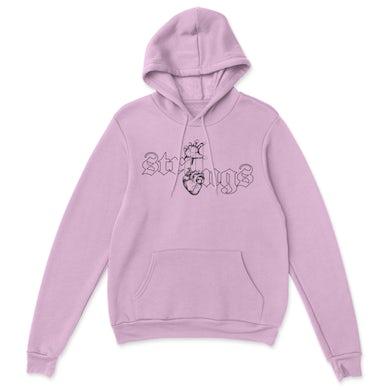 IYLA Heart Strings Hoodie Pink
