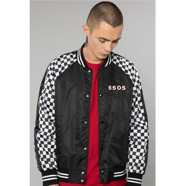5 Seconds Of Summer YOUNGBLOOD CHEQUERED JACKET