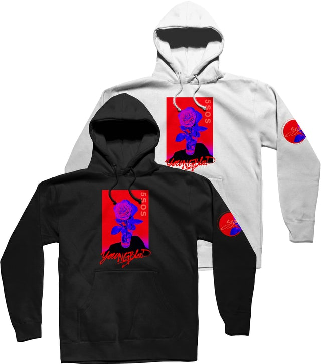 5 Seconds Of Summer ROSE HOODIE