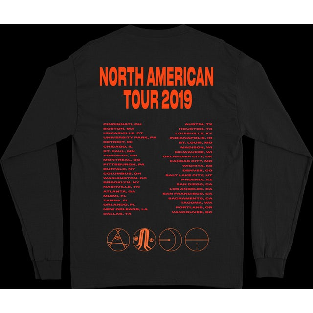 5 Seconds Of Summer A.A.B.C. TOUR LS + DIGITAL ALBUM [OPTIONAL]