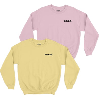5 Seconds Of Summer  EMBROIDERED CREWNECK