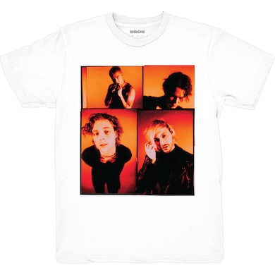 5 Seconds Of Summer FACES TOUR TEE