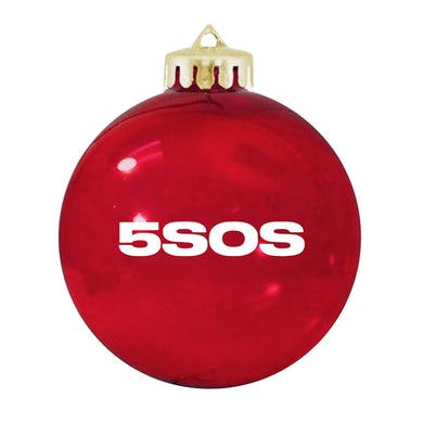 5 Seconds Of Summer HOLIDAY ORNAMENT