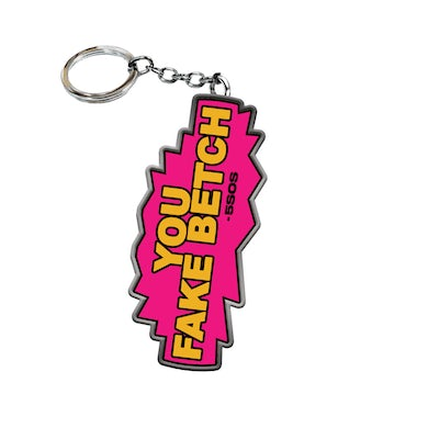 5 Seconds Of Summer FAKE B- KEYCHAIN