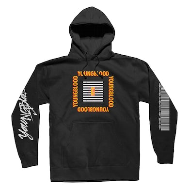 572657d8d 5 Seconds Of Summer BLACK YOUNGBLOOD HOODIE
